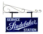 Studebaker Service Station Sign