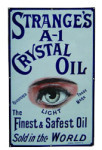 Strange's A-1 Crystal Oil Sign