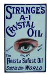 Strange's A-1 Crystal Oil Sign