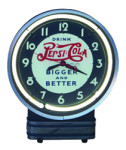 Pepsi-Cola Neon Clock