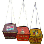 Soap Brand Hanging Signs