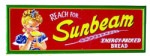 Sunbeam Bread Sign