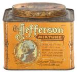 Jefferson Mixture Tobacco Tin