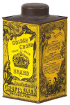 Golden Crown Cocoanut Tin