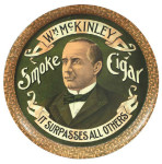 Wm McKinley Cigar Tray