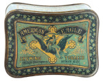 American Eagle Tobacco Tin