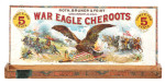 War Eagle Cheroots Cigar Box