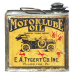 Motorlube Oil Tin