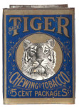 Blue Tiger Tobacco Tin