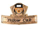 Yellow Cab Badge