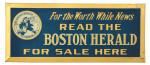 Boston Herald Sign