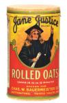 Jane Justice Oats Box