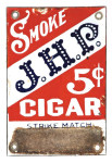 JHP Cigar Match Scratcher
