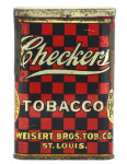 Checkers Tobacco Tin