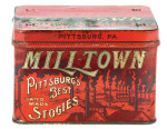 Mill-Town Cigar Tin