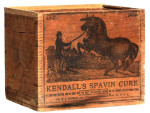 Kendall's Spavin Cure Crate