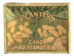 Planters Candy Peanut Blocks Box