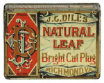 Dill's Natural Leaf Tobacco Tin