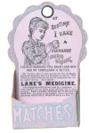 Lane's Medicine Match Holder