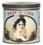 Rose-O-Cuba Cigar Tin
