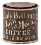 Lady Baltimore Coffee Tin