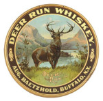 Deer Run Whiskey Sign