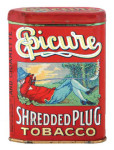 Epicure Tobacco Tin