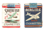 Southland & Airline Cigarette Packs