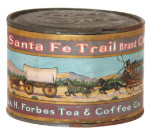 Santa Fe Trail Coffee Tin