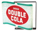 Double-Cola Soda Spinning Sign