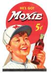 Moxie Soda Die-Cut Sign