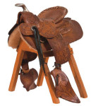 Salesman's Sample Saddle