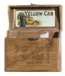 Yellow Cab Cigar Box