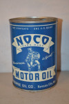 Noco Motor Oil Round Metal Can