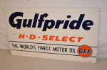Gulfpride Single-Sided Tin Sign