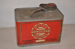 Monogram Motor Lubricants Squatty Metal Can