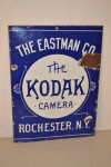 The Kodak Camera Single-Sided Porcelain Sign
