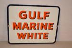 Gulf Marine White Pump Plate