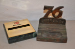 Union 76 Ashtray & Phillips 66 Paperweight