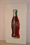 Coca-cola Bottle Single-Sided Porcelain Self-Framed Sign