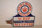 Standard Oil Of California Diecut Paddle Sign