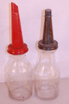 Brookins and The Wonder Embossed Oil Bottles