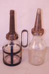 Hazel Atlas & Generic Embossed Oil Bottles