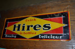 Early Hires Root Beer Single-Sided Tin Sign