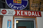 Kendall Single-Sided Tin Self-Framed Sign