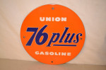 Union 76 Pump Plate