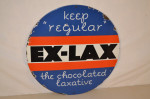Ex-lax Single-Sided Porcelain Sign