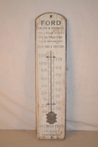 Ford Thermometer | Antique Advertising Value and Price Guide
