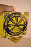 Certified Garages Of America Association Flange Sign