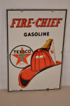 Texaco Fire Chief Pump Plate